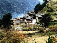 Bumthang village