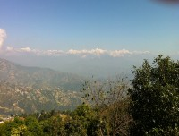 Beautiful Scene Nagarkot View tower