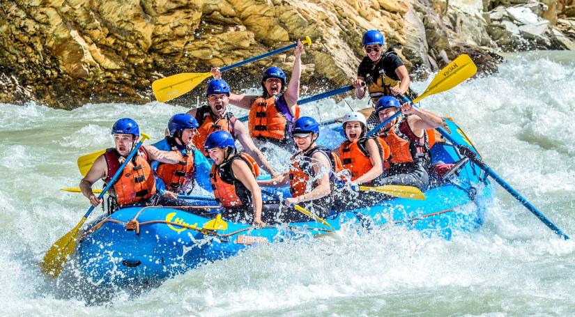 A adventure sports tour in Nepal