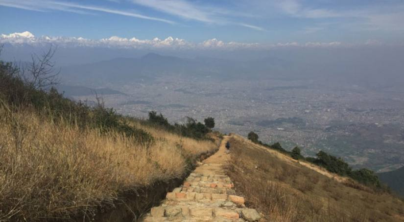 Day hike to Champadevi Hill from Kathmandu