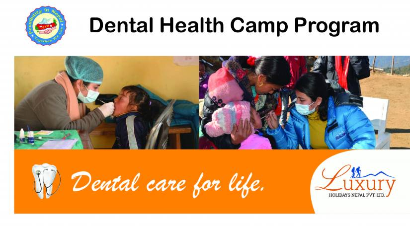 Dental Health Camp Organized together by Luxury Holidays Nepal and Possibility in Nepal