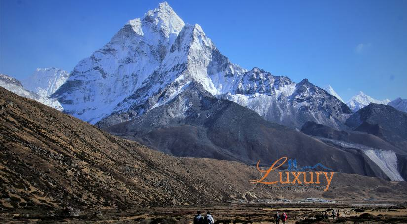 Mt. Ama Dablam from Pheriche
