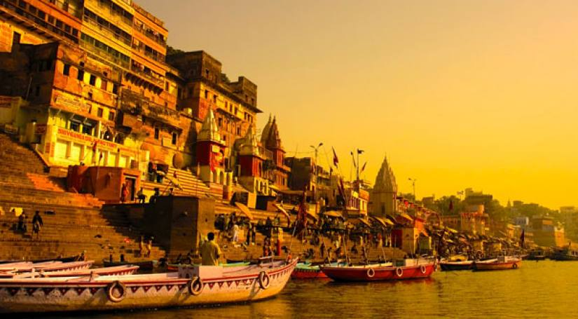 GOLDEN TRIANGLE WITH HOLY CITY VARANASI & WILDLIFE TOUR TO RANTHAMBORE