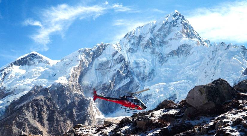 Lukla To Base Camp Helicopter flight