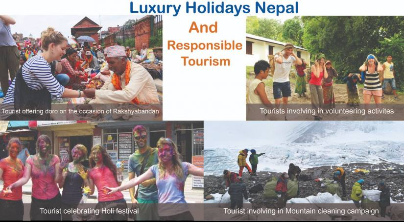 Luxury Holidays Nepal and Responsible Tourism