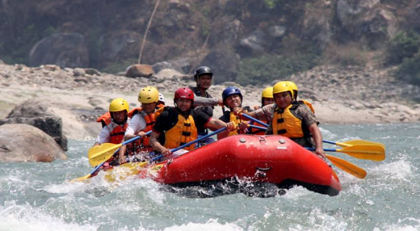 Rafting at Trishuli River (1 day)