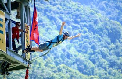 A sports adventure tour in Nepal
