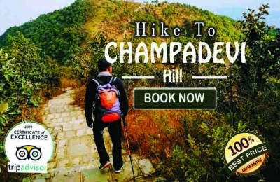 Day Trip to Champadevi Hill from Kathmandu Including Lunch at Hattiban Resort