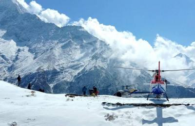 Everest Base Camp Helicopter Tour From Lukla