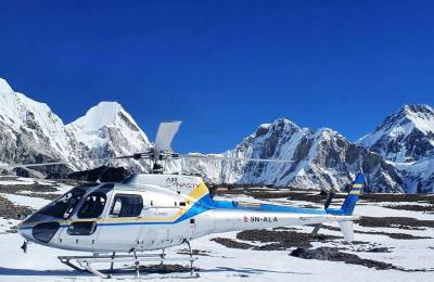 Everest Stopover at Kalapattar Helicopter Tour