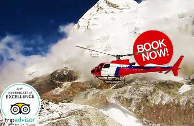 Luxury Everest Base Camp Trek with Helicopter flight from Base Camp to Lukla