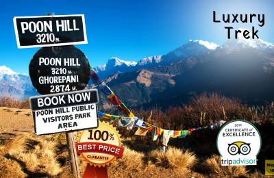 Luxury Ghorepani Poonhill Trek with Jungle Safari
