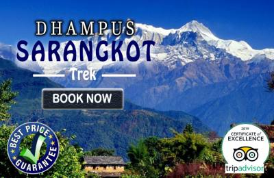Dhampus Sarangkot Trek With City Tours (Kathmandu and Pokhara)