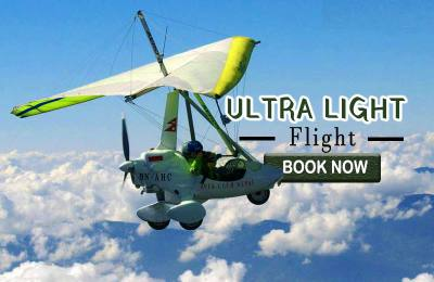 Ultra Light Flight in Pokhara