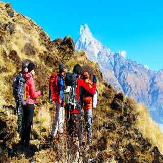 """Poon Hill & Mardi Himal Base Camp"""